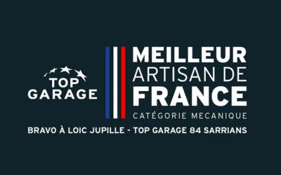 Un mécanicien Top Garage primé Meilleur Artisan de France !
